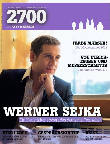 das city magazin 04/09 - 2700 - Das City Magazin