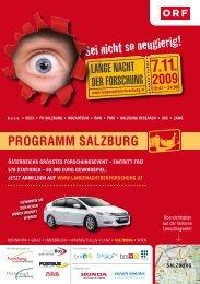 Salzburg - Lange Nacht der Forschung 2012