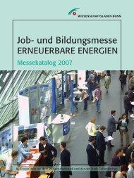 Messekatalog - Jobmotor Erneuerbare Energien
