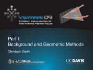 Part I: Background and Geometric Methods - Institute for Data ...