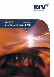 Salzburg Verkehrsunfallstatistik 2006 - KfV