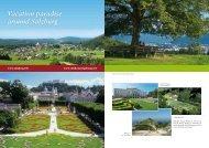 Vacation paradise around Salzburg