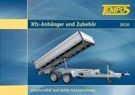 Kfz-Anhänger und Zubehör - Grotemeier GmbH & Co. KG