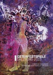 OSTERFESTSPIELE SALZBURG 2013
