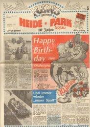 Heide-Park Zeitung Nr. 5 (1987) - Heide Park World