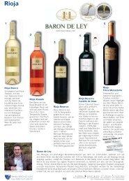 Rioja Reserva Baron de Ley Rioja Blanco Rioja Finca ... - Wein Wolf