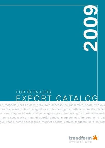 export catalog