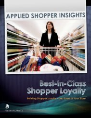 Boost Sales At Your Store - General Mills