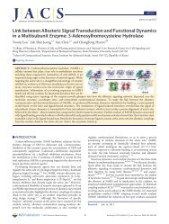 Link between Allosteric Signal Transduction and Functional ... - KIAS
