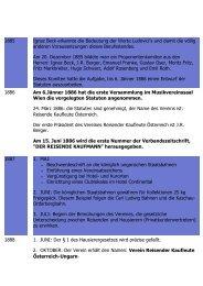 Die Bundesleitung - Verband Reisender Kaufleute Österreich