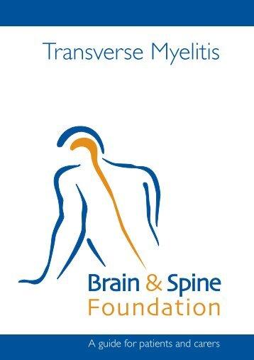 Transverse Myelitis booklet aw:SAH booklet opt 1