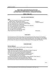 10. Laporan Prosiding Mesyuarat Jawatankuasa (Bil 9/ 14