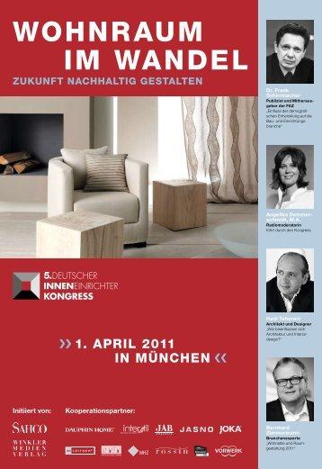 WOHNRAUM IM WANDEL - inneneinrichterkongress.de