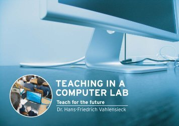 "download the brochure (PDF), ""Teaching in a Computer"