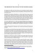 the polisario front and the development of terrorism in the sahel - Esisc - Page 5