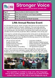 Hospital Discharge Project - North Tyneside LINk