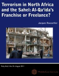 Terrorism in North Africa and the Sahel - Middle East Institute