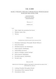 Suruhanjaya Pencegahan Rasuah Malaysia 1 D.R. 21/2008 RANG ...
