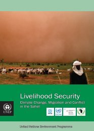 Livelihood Security: Climate Change, Migration and Conflict in