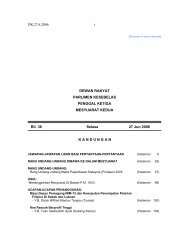 DR.27.6.2006 i DEWAN RAKYAT PARLIMEN KESEBELAS ...