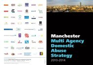 Manchester Multi Agency Domestic Abuse Strategy - End the Fear