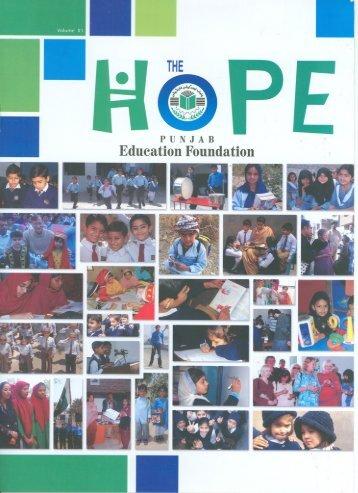 News Letter Version 11 - Punjab Education Foundation