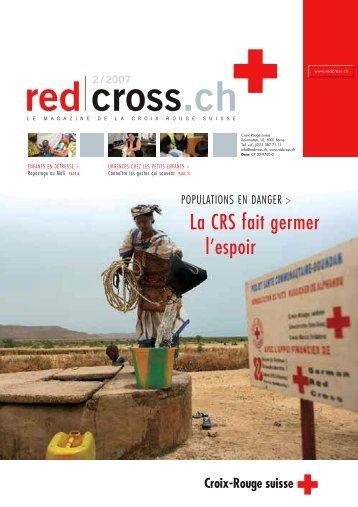 red cross.ch 2 / 2007