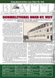 SCHMELZTIEGEL OBER ST. VEIT - Plattform Ober St. Veit