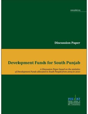 Download Discussion Paper [PDF] - PILDAT