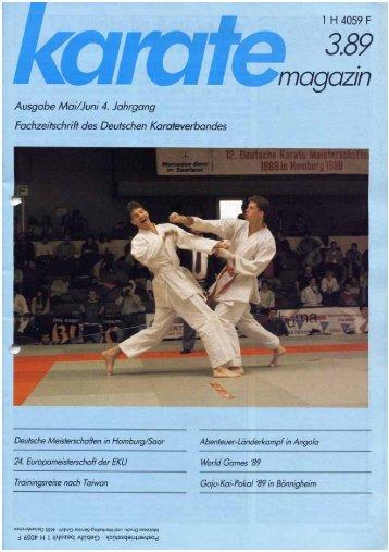 Angola in Luanda - Chronik des deutschen Karateverbandes