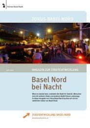 Basel Nord bei Nacht - Stadtentwicklung Basel Nord - Basel-Stadt