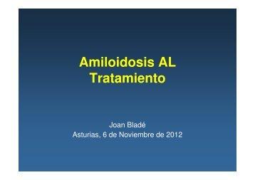 Amiloidosis AL Tratamiento