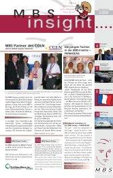 MBS Partner des CGLN - MBS Logistics