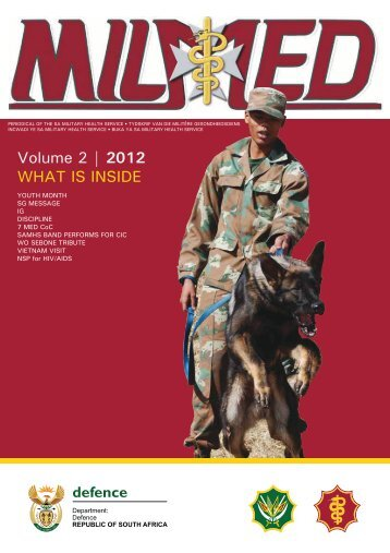 milmed august 2012 - South African Military Health Service