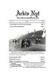 Orientering fra Arkivet og foreningen Side 3 Sahl sogneråd i 1905 ...