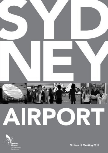 Download this PDF (705KB) - Sydney Airport