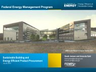 Federal Green Challenge Energy Webinar: Sustainable Building ...