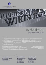 Kanzlei Newsletter anzeigen