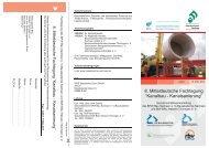 Einladung Kanalbaufachtagung - Ingenieurkammer Sachsen