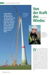 Von der Kraft des Windes - BWGV