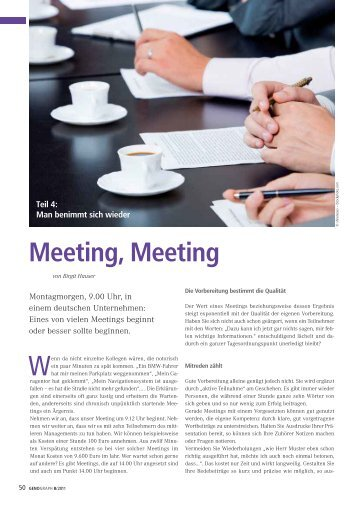 Meeting, Meeting - BWGV