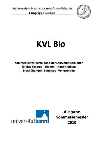 Kommentiertes Veranstaltungsverzeichnis SS2010 der Fachgruppe ...