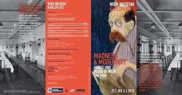 Ausstellungsfolder als Pdf-Download - Wien Museum