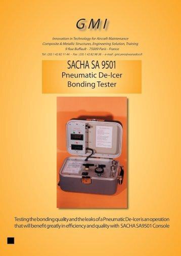 SACHA SA 9501 Pneumatic De-Icer Bond ing Test er - GMI Aero