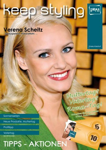 Verena Scheitz - ROMA Friseurbedarf