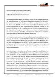 Geotechnische Kategorie und Architektenhaftung Folgerungen aus ...