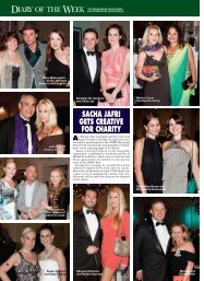 SACHA JAFRI GETS CREATIVE FOR CHARITY - Couture Events