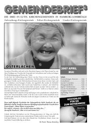 April - Mai 2007 - Willkommen auf dem gemeinsamen Internetportal ...