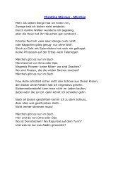 Christina Stürmer - Märchen Mehr als sieben Berge hab ich hinter ...