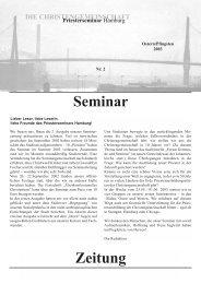 Nr.2 | 2003 - Priesterseminar Hamburg